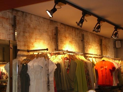 Dreamwall's Rustic Brick'FATFACE' Leeds installation
