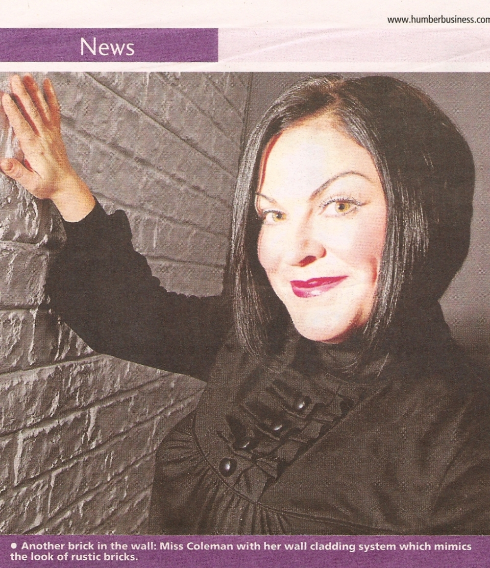 Recent Dreamwall press 'News' Humber business in the GE Telegraph (Hannah Coleman founder of Dreamwall)