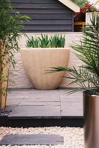 Picture courtsey Green Interiors; Dreamwall Rustic Brick used at the Chelsea Flower show