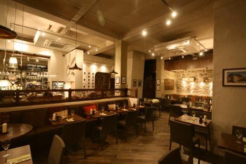Phillip watts design use Dreamwall for Ego Restaurant Manchester