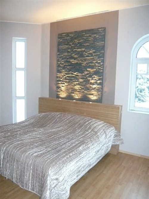 Pizzara panels used for a bedroom installation on Finland TV