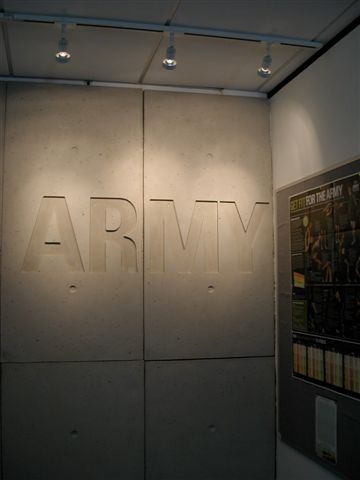 Dreamwall concrete panels used by British Army