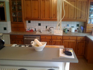 Kitchen before revamp