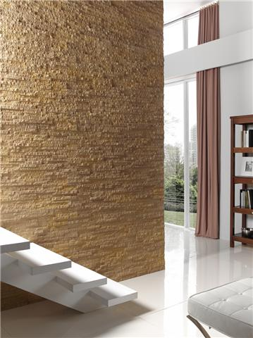PR 310 OCHRE INSPIRATION PANEL INSTALLED INTO A PROJECT