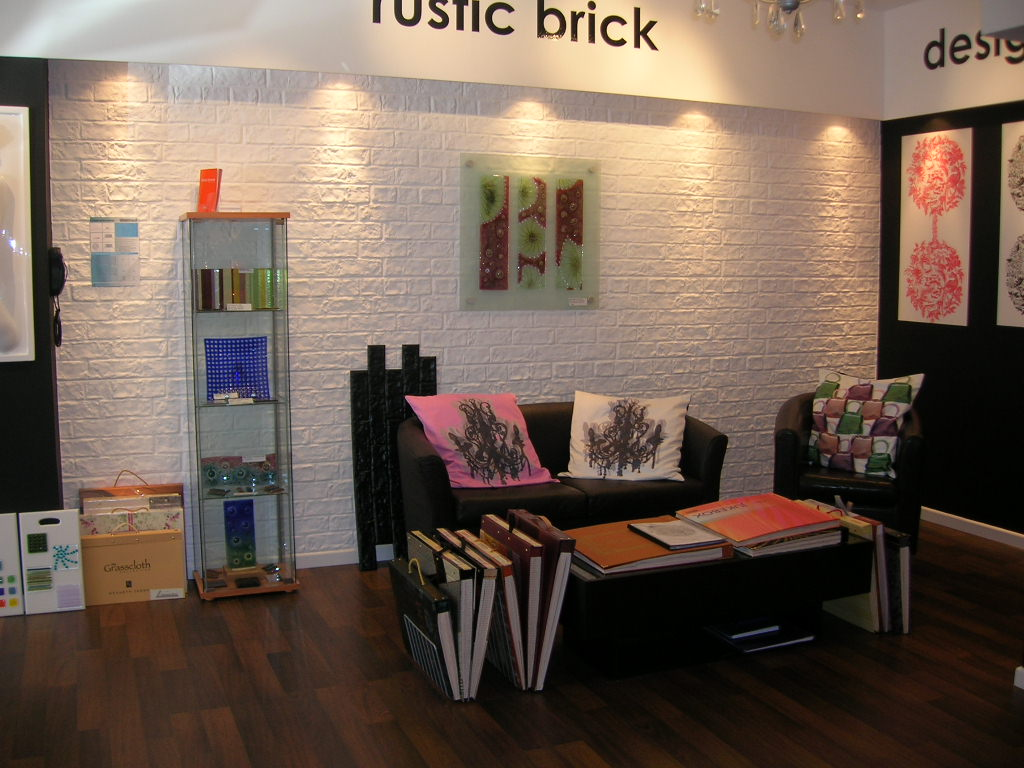 River Island Brick Effect Dreamwall Wallcoverings With A
