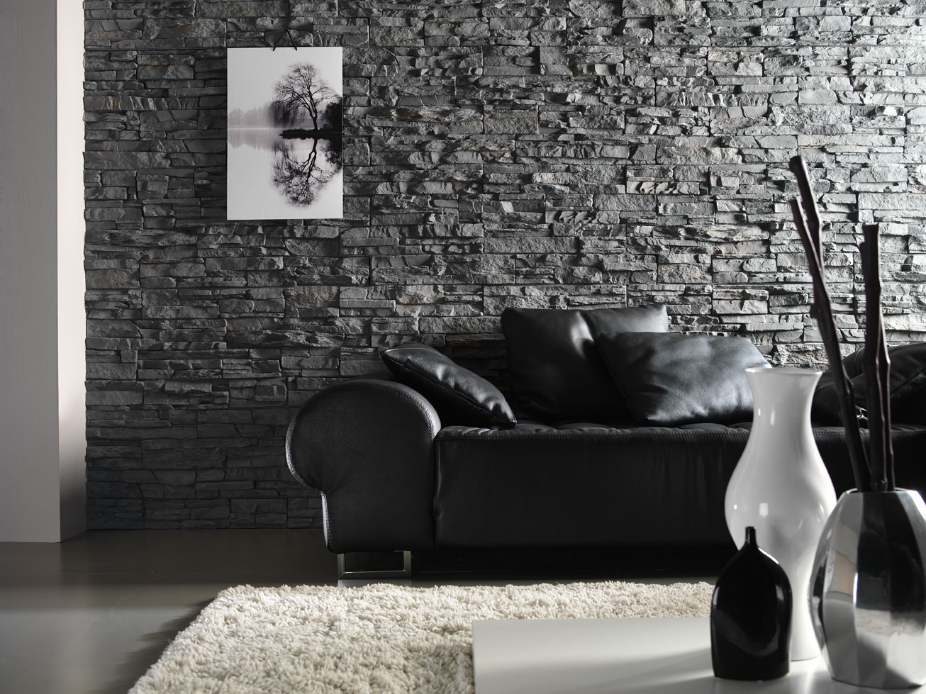 Panel piedra pr 22 dreamwall wallcoverings with a difference - Panel piedra interior ...