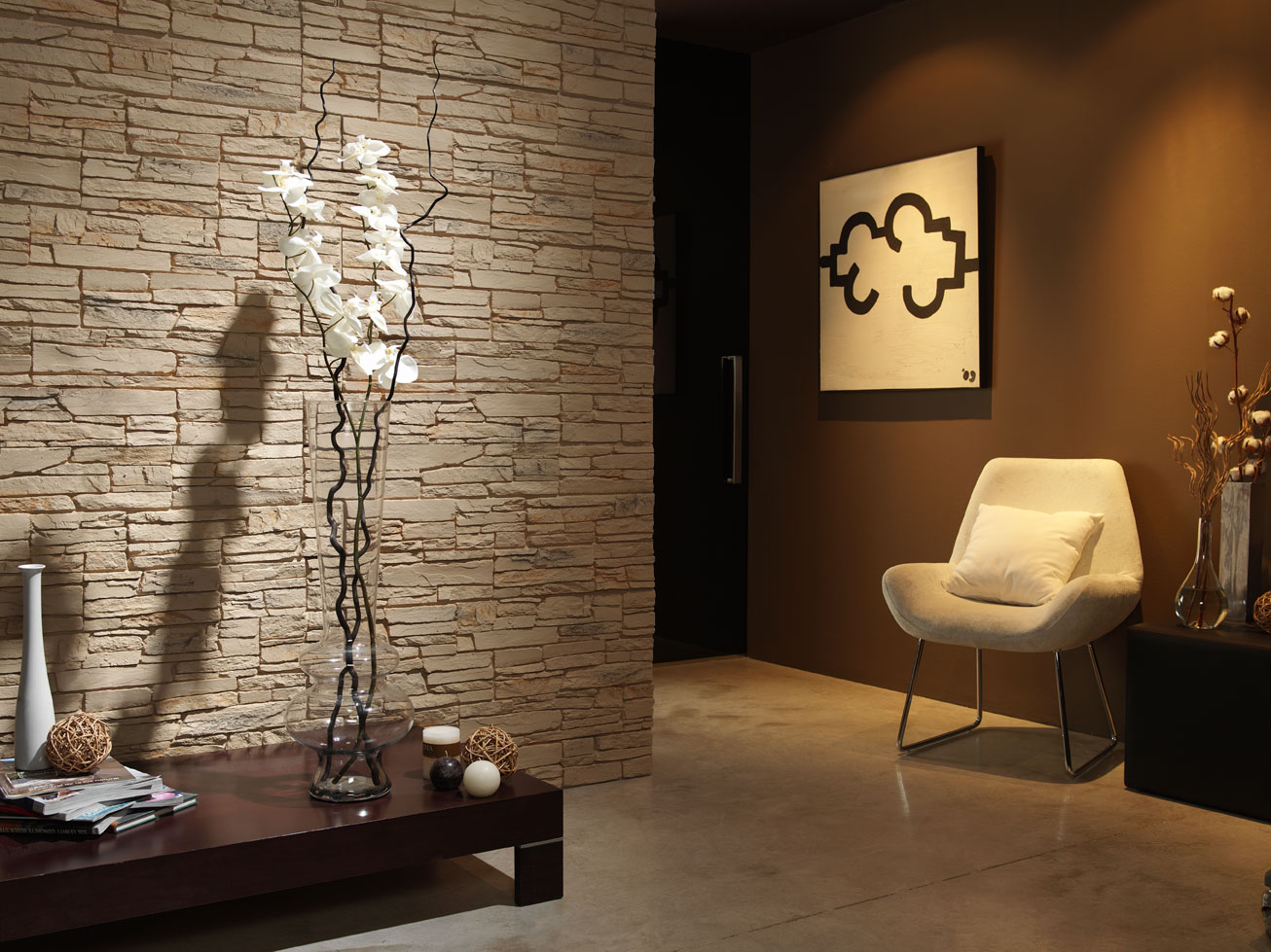 Faux Slate Wall Panels Dreamwall Wallcoverings With A Difference