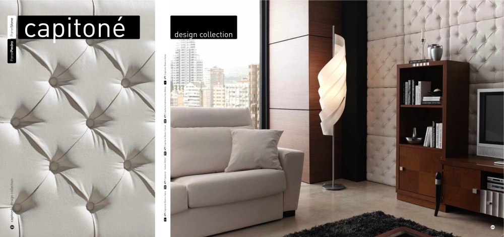 Dreamwall capitone panels