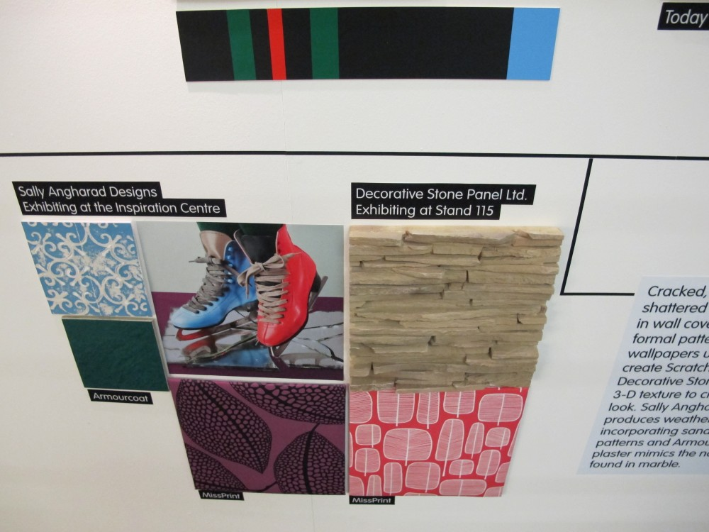 Our Panel also featured on the Trend Wall by Global Colour Mixed Publication