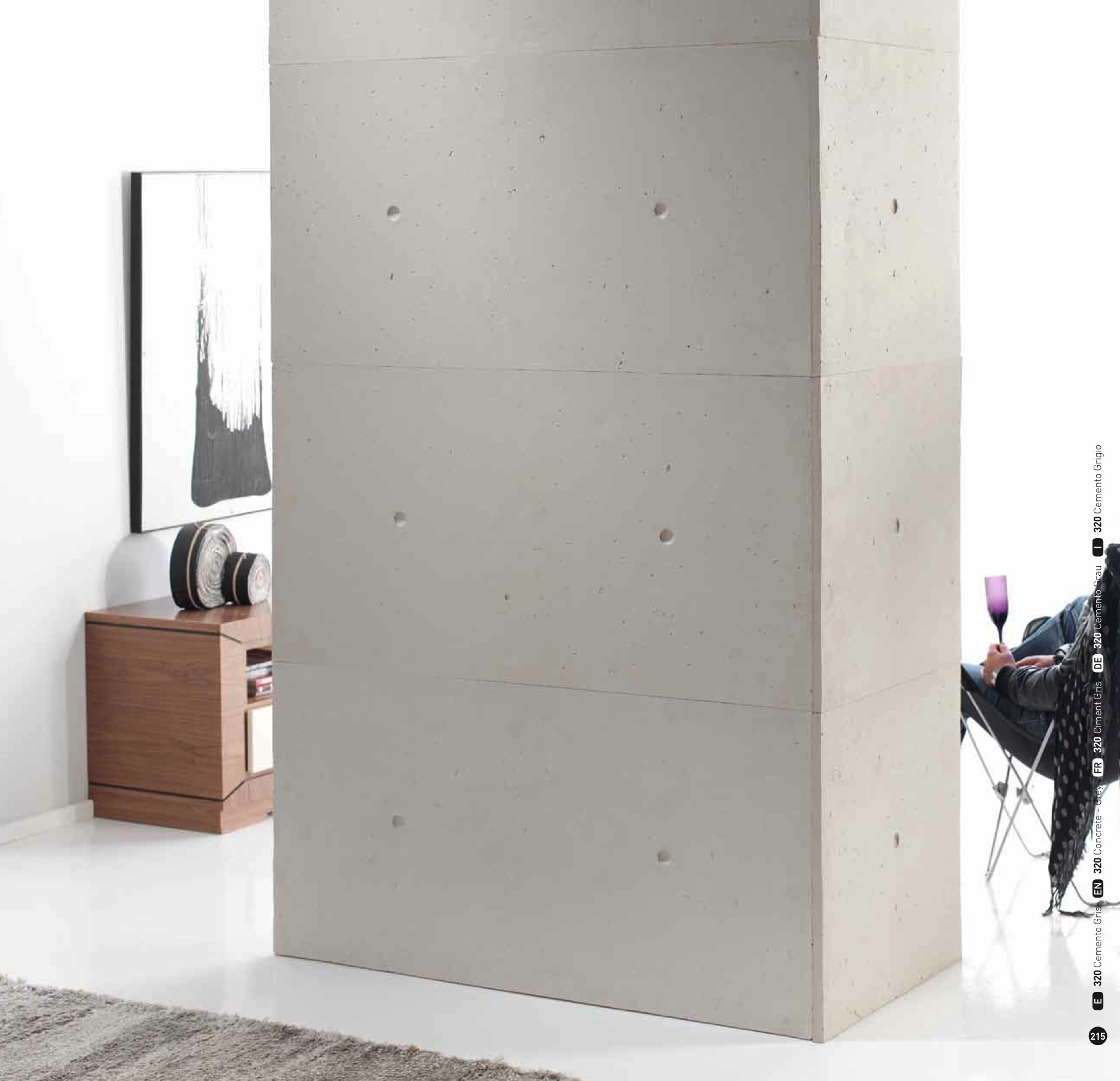 Concrete Wall Board : Concrete panels dreamwall wallcoverings with a difference