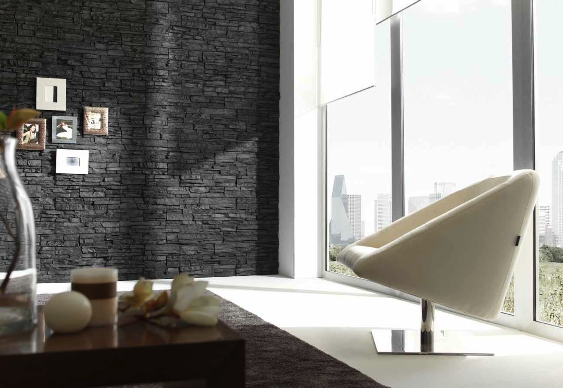 interior slate walls dreamwall wallcoverings with a difference