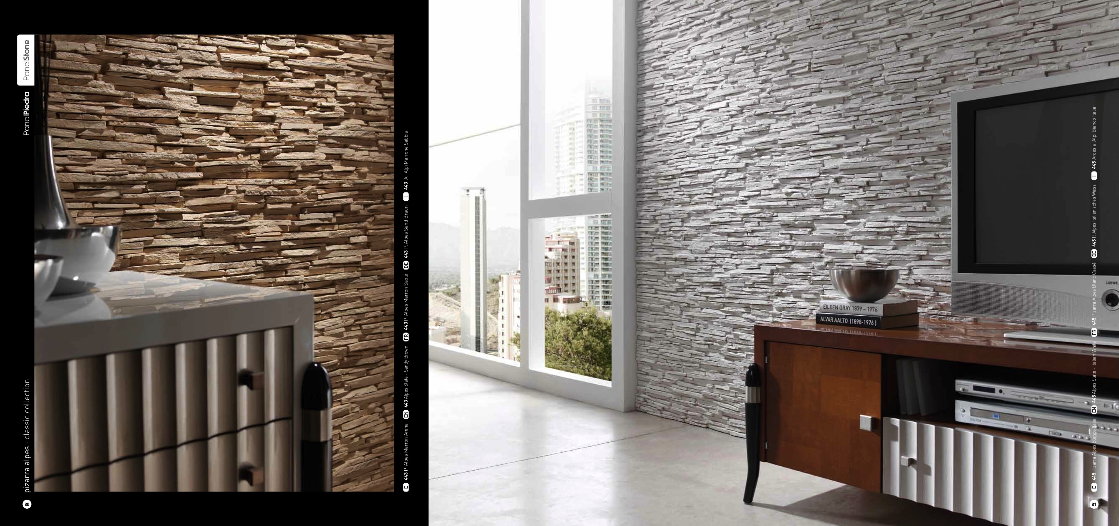 Pizarra Alpes Slate Dreamwall Wallcoverings With A