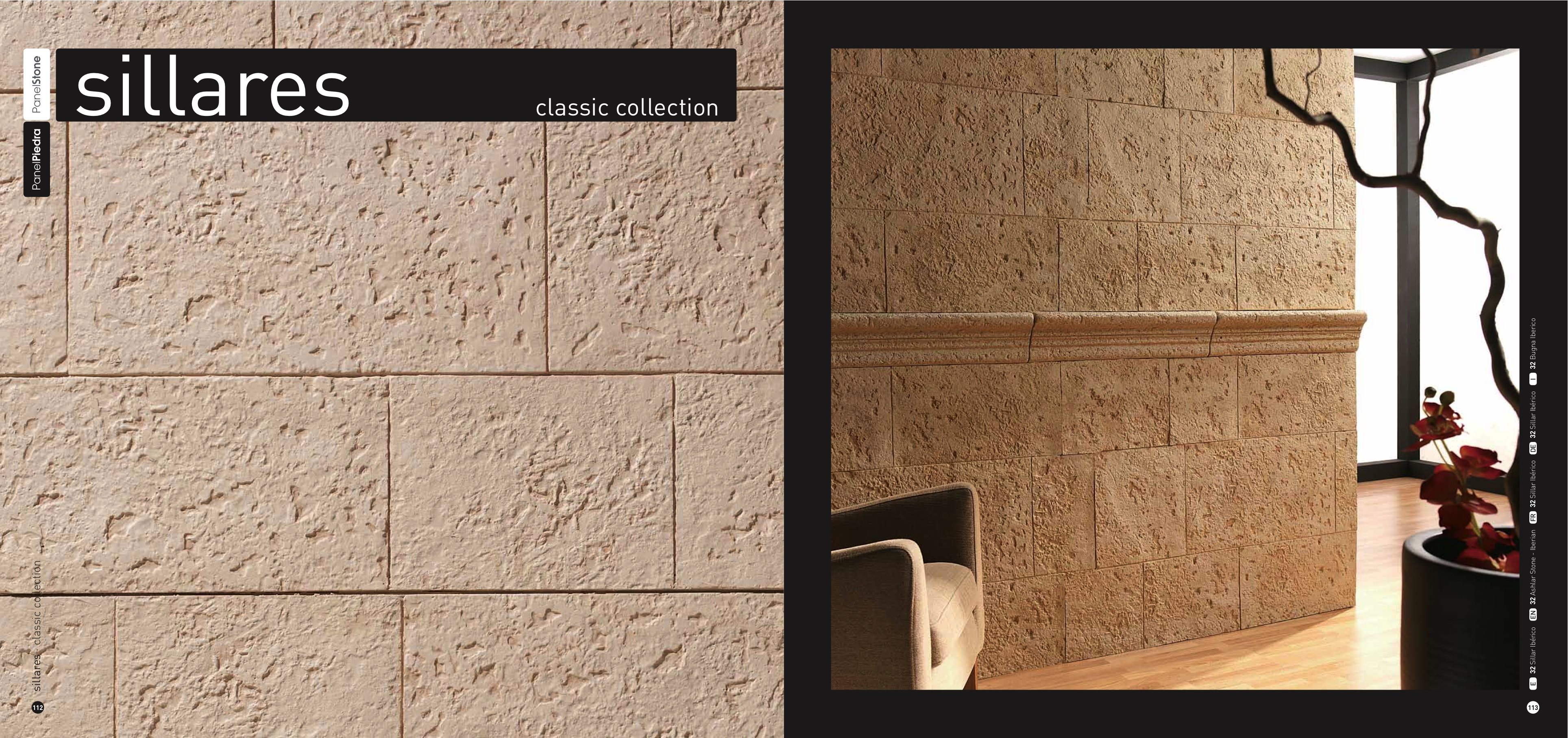 Sillares panel piedra dreamwall wallcoverings with a - Panel piedra interior ...