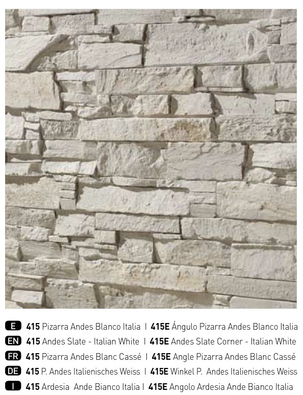 NEW\' Dreamwall: Andes Slate in Italian White – Dreamwall ...