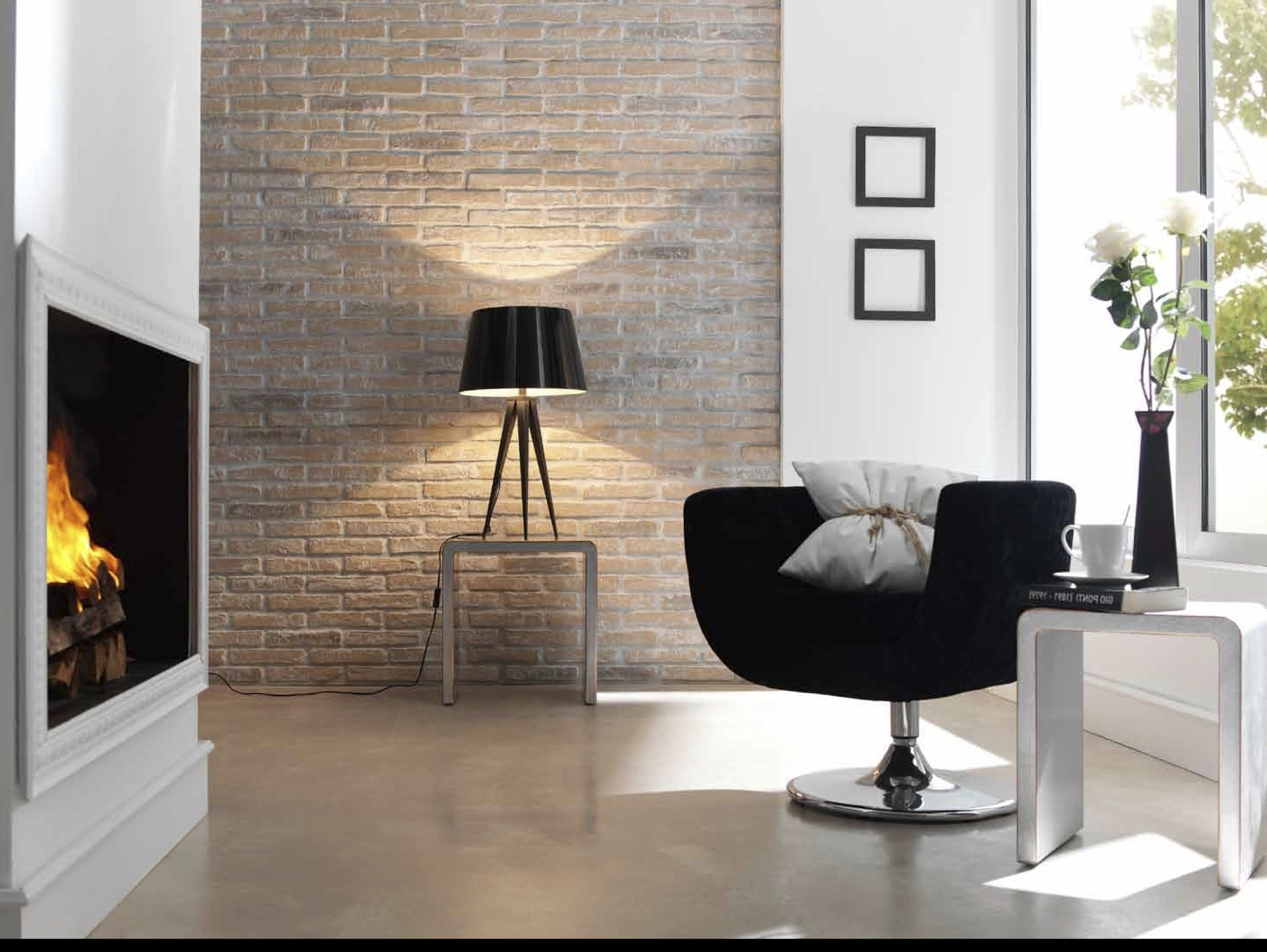 Its all about the exposed brick effect dreamwall for Simulador de cocina
