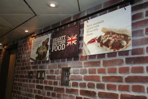 Dreamwall Farmers Brick Panel as installed by a client at the ICC Birmingham
