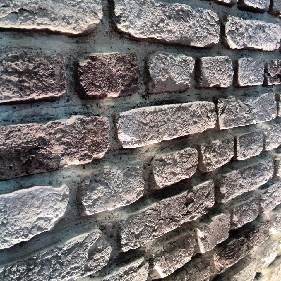 Brick Wall Covering : Fake brick wall panels dreamwall wallcoverings with a