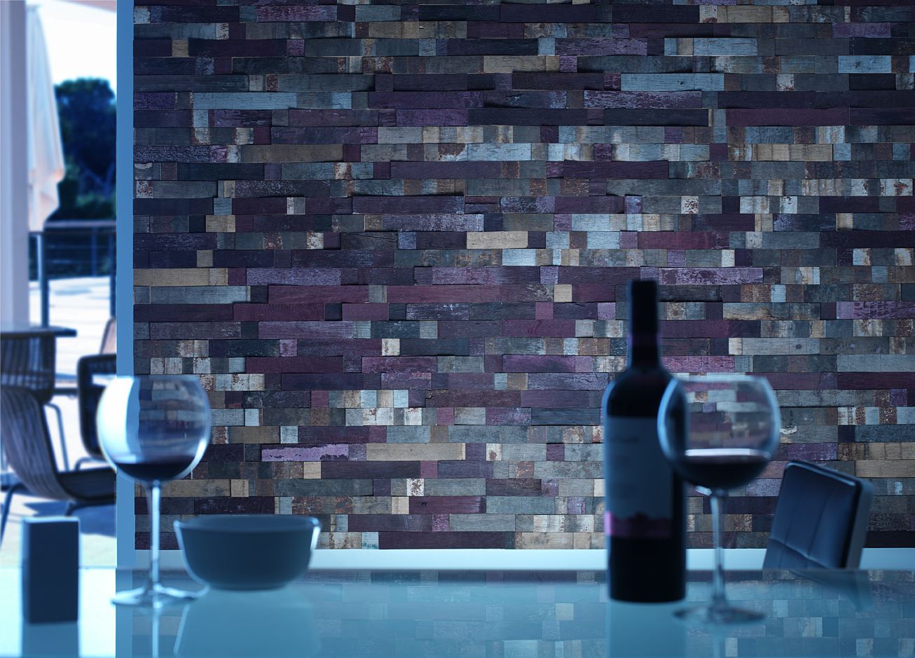 BRAND NEW PRODUCT LAUNCH \'NATURE\' RECYCLED OAK WOOD PANELS ...