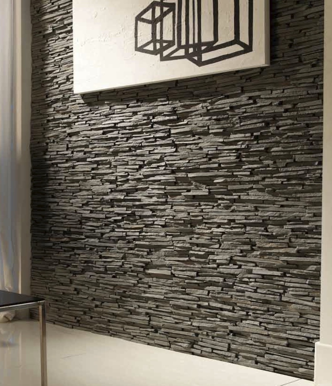 Plastic Stone Walls : Pizarra alpes faux slate wall panels dreamwall