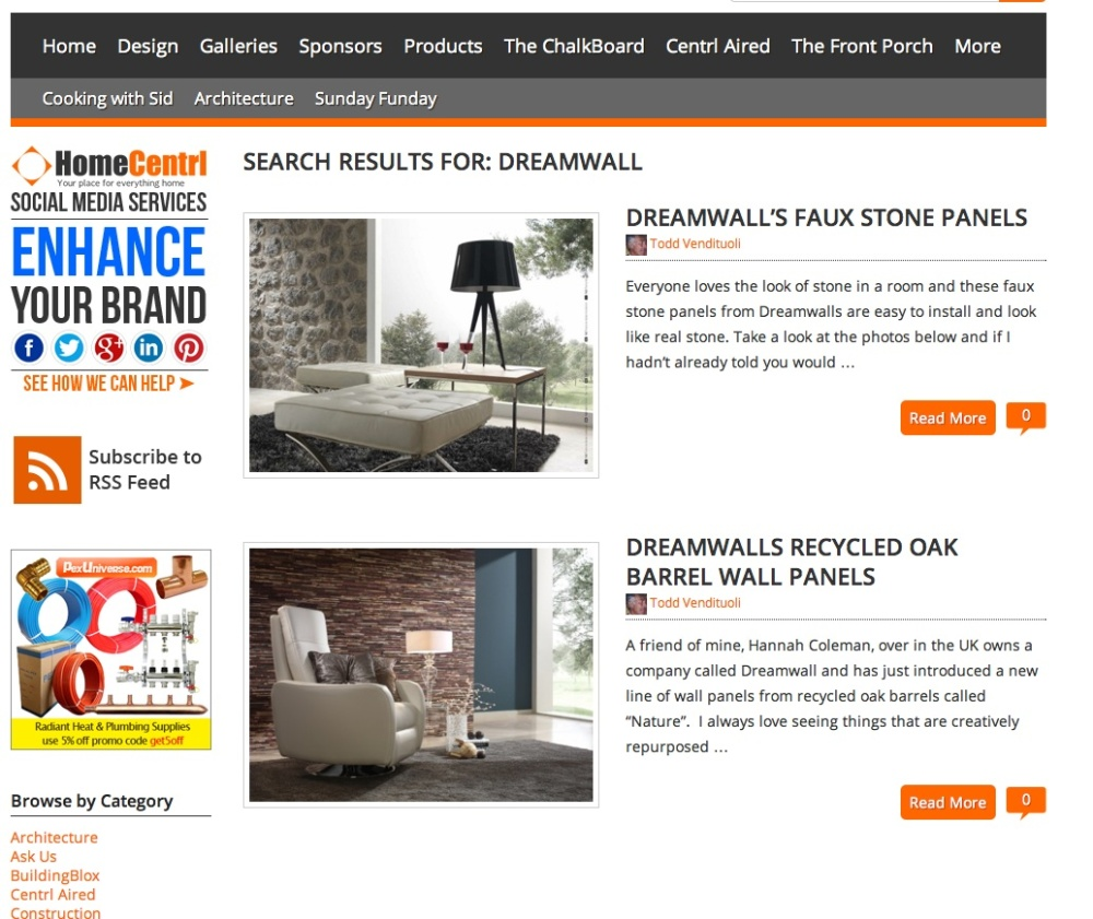 Dreamwall featured on building blox