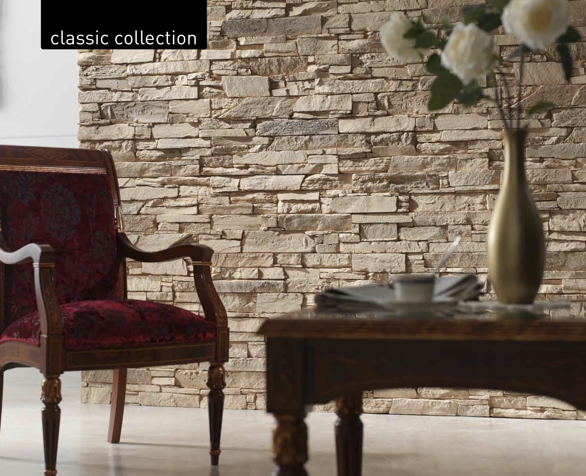 Pizarra Andes Slate Wall Panels – Dreamwall wallcoverings with a ...