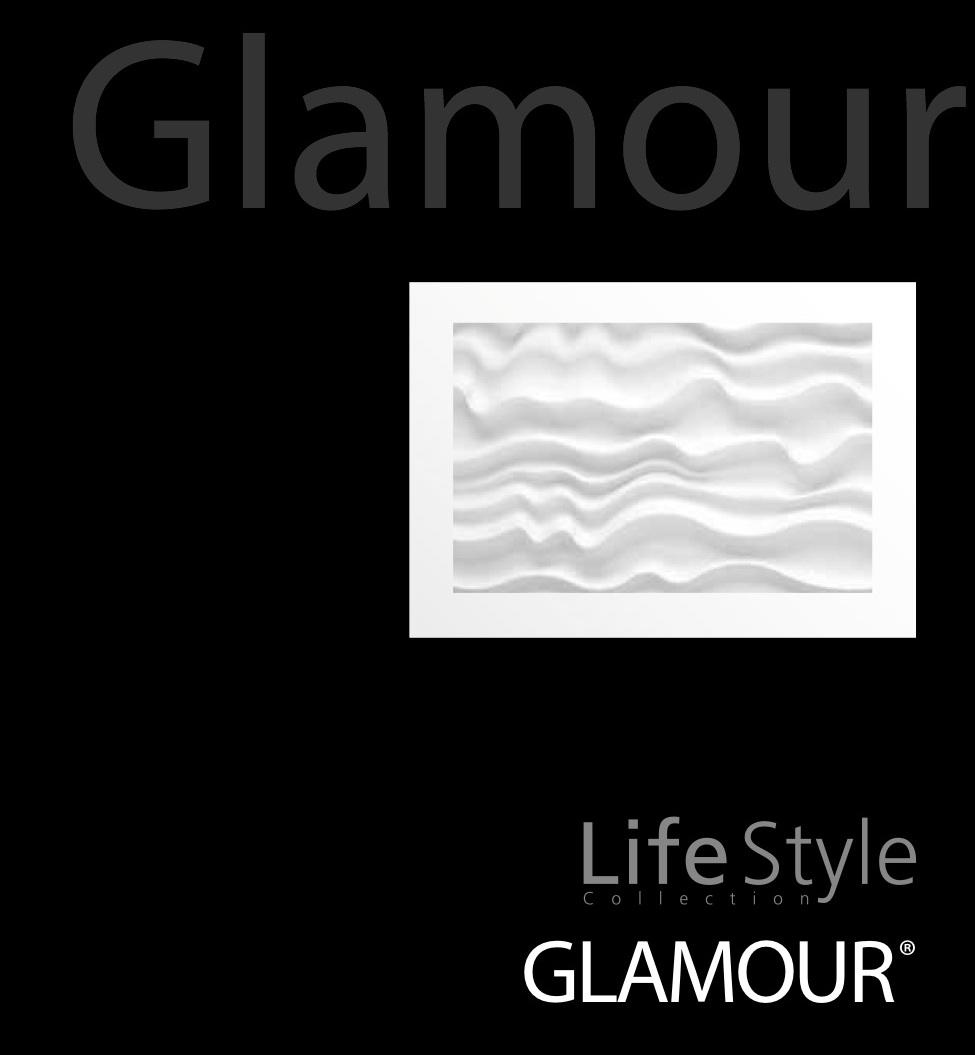 """Dreamwall Lifestyle panels """"Glamour"""" wall panels"""