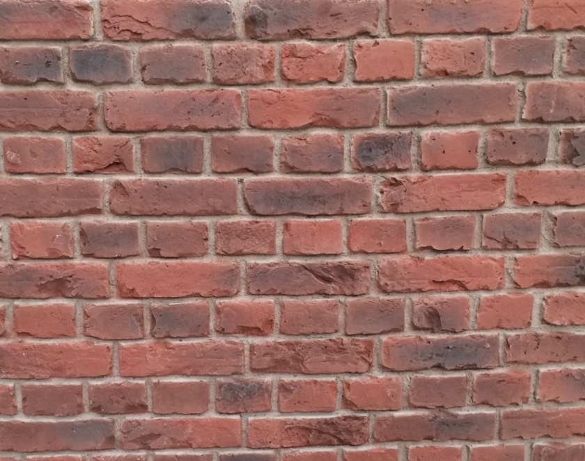 Dreamwall Panel PR 550 Red Old English Faux Brick Panel