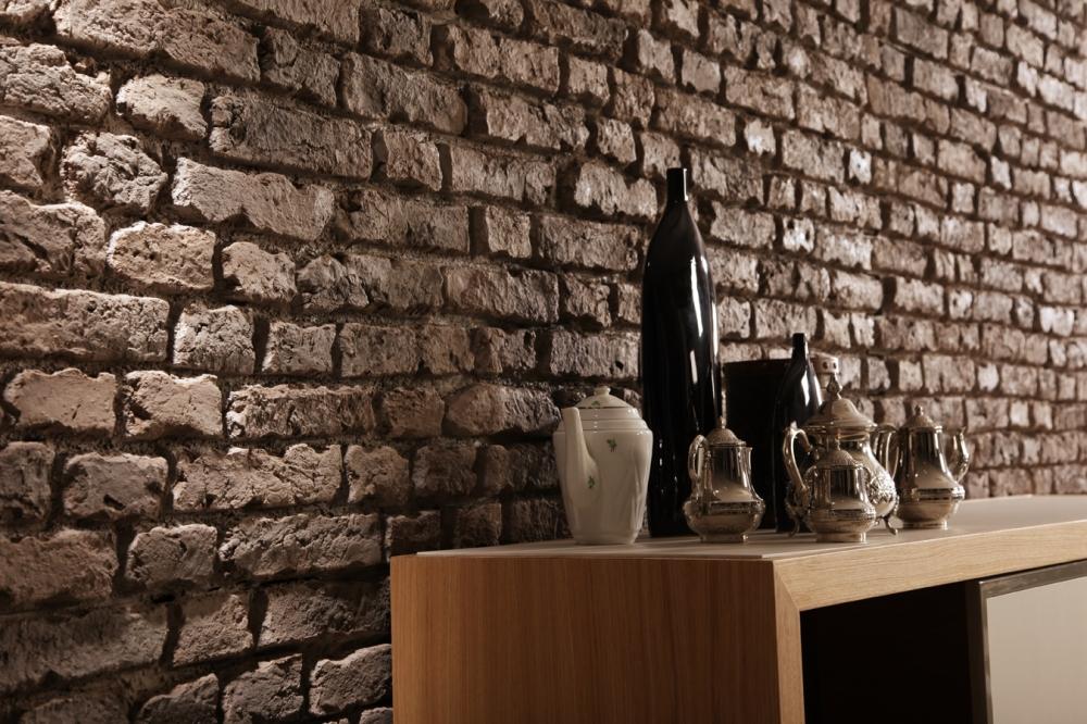 PR 552 English Faux brick in Brown
