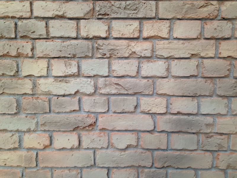 Pr 552 yellow orange old faux english brick wall panels - Artificial brick wall panels ...
