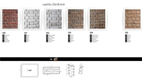 OLD BRITISH BRICK 7