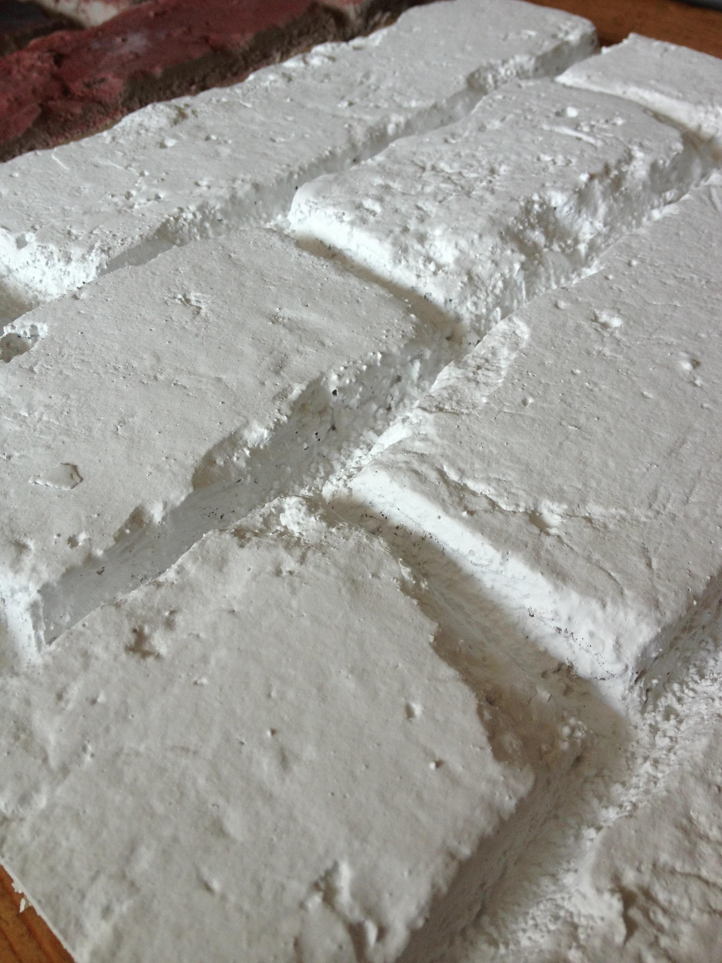 in stock pr 551 white fauxbrick wall panels dreamwall