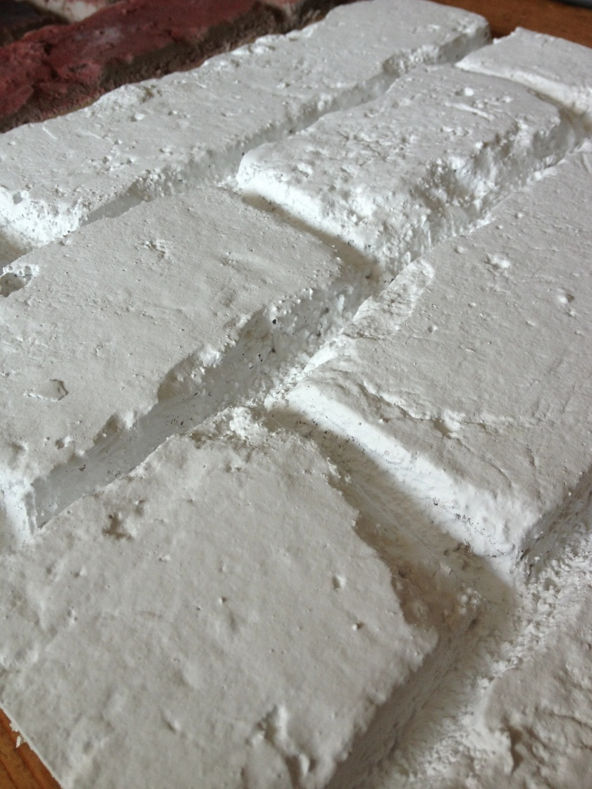 WHITE FAUX BRICK PANEL PR 551 FROM DREAMWALL