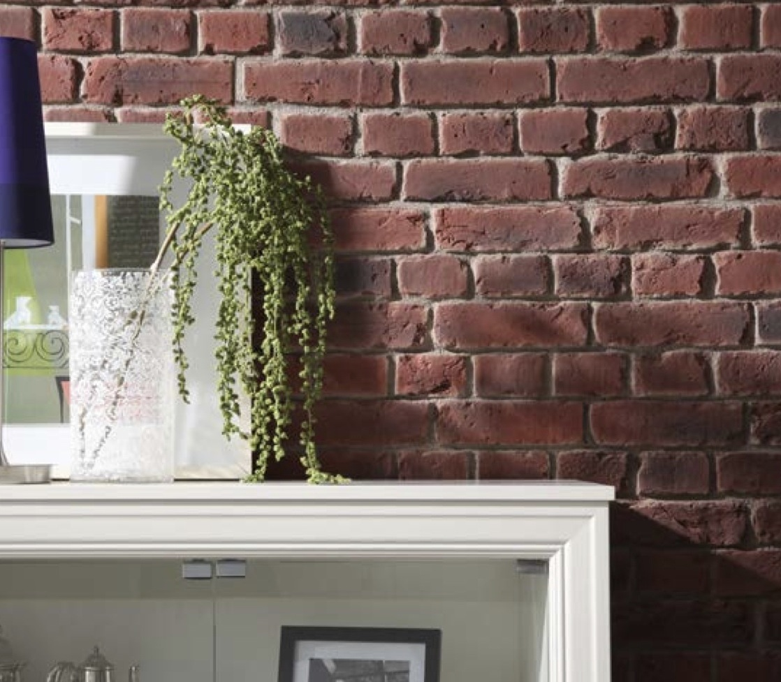 Brick Wall Covering : Fake brick panels dreamwall wallcoverings with a difference