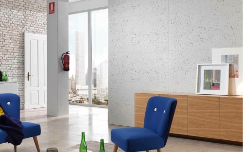Hormigon Faux concrete wall panels from Dreamwall