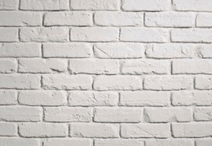 PR 541 White FauxBrick wall Panel from Dreamwall