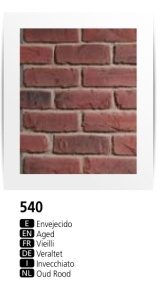 PR 540 - Faux Brick Wall Panels