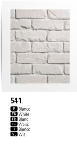Dreamwall FauxBrick wall panel PR 541 White British Brick