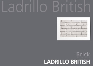 PR 541 White FAUXBRICK wall panels from our Ladrillo British range at Dreamwall