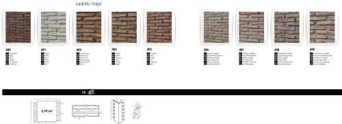 LADRILLO VIEJO FAUXBRICK BOARDS