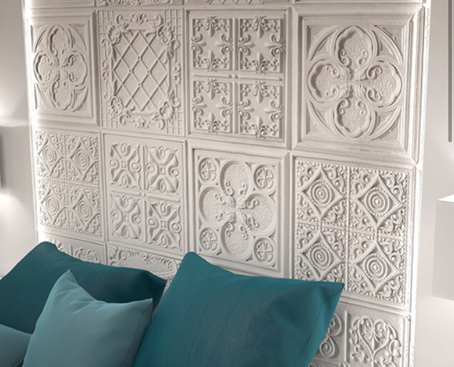 Versailles wall panels from our vintage range