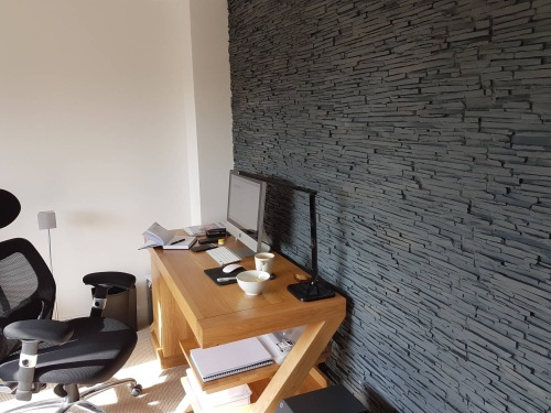 Dreamwall Pizarra Alpes Faux slate wall panels