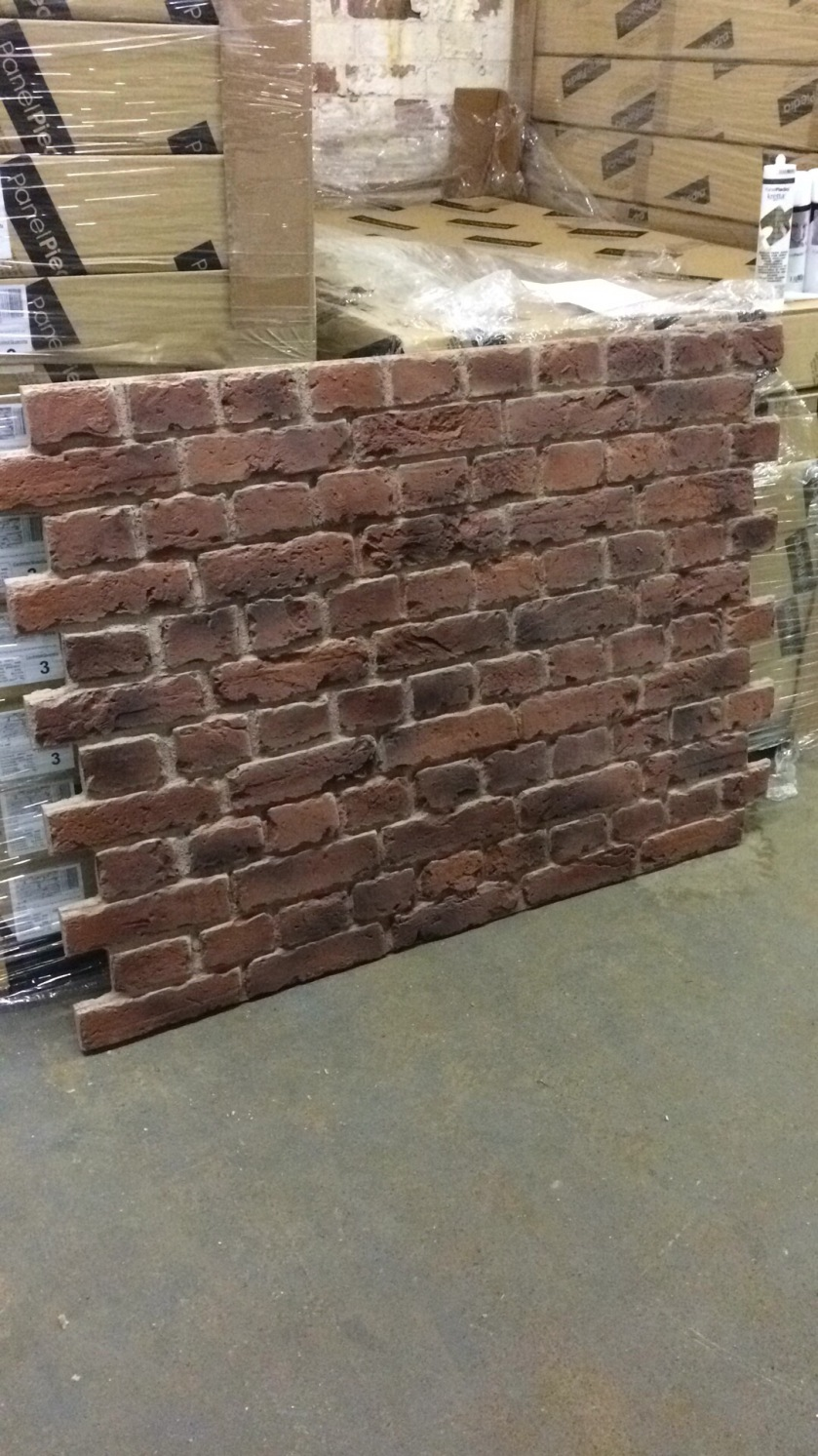 Dreamwall Panels on display in IKEA Cardiff & Reading PR 550 Old Red Brick