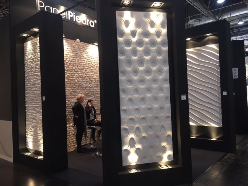 Panel Piedra exhibition stand Euro shop 2017