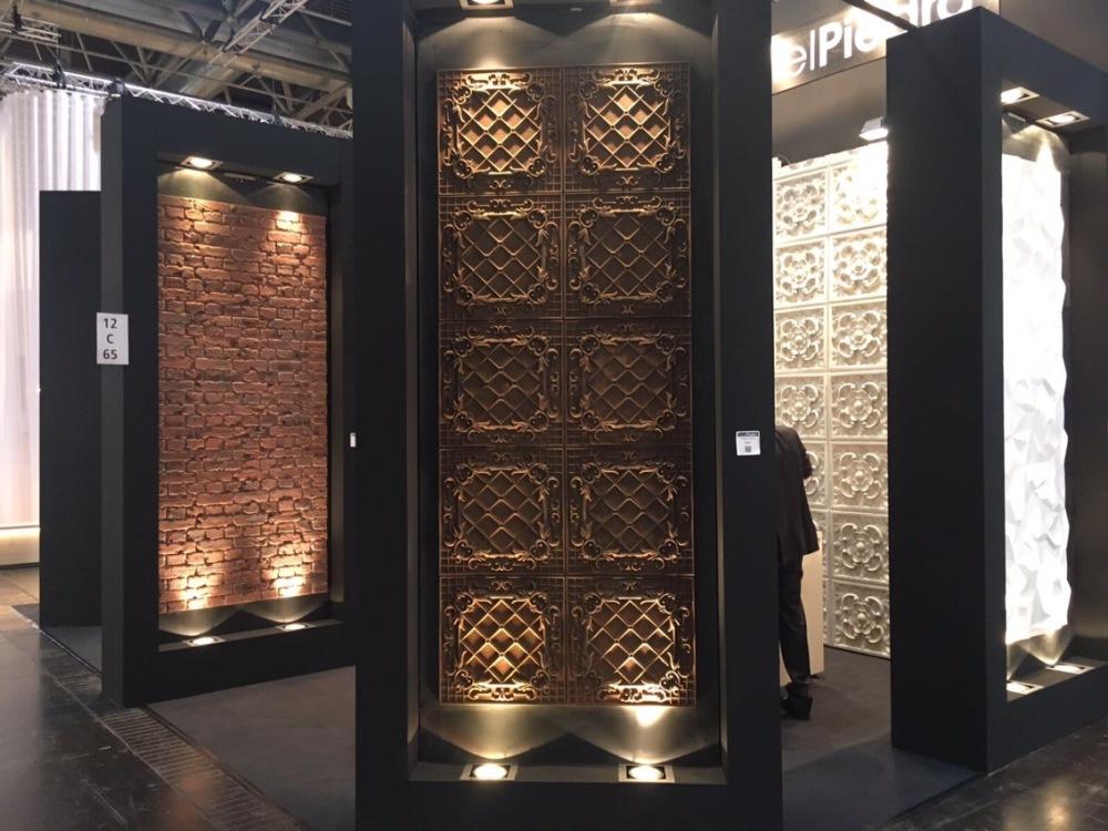 Panel Piedra exhibition stand Euro shop 2017