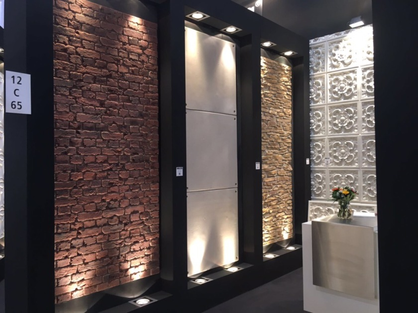 Panel Piedra wall panels on display at EuroShop 2017
