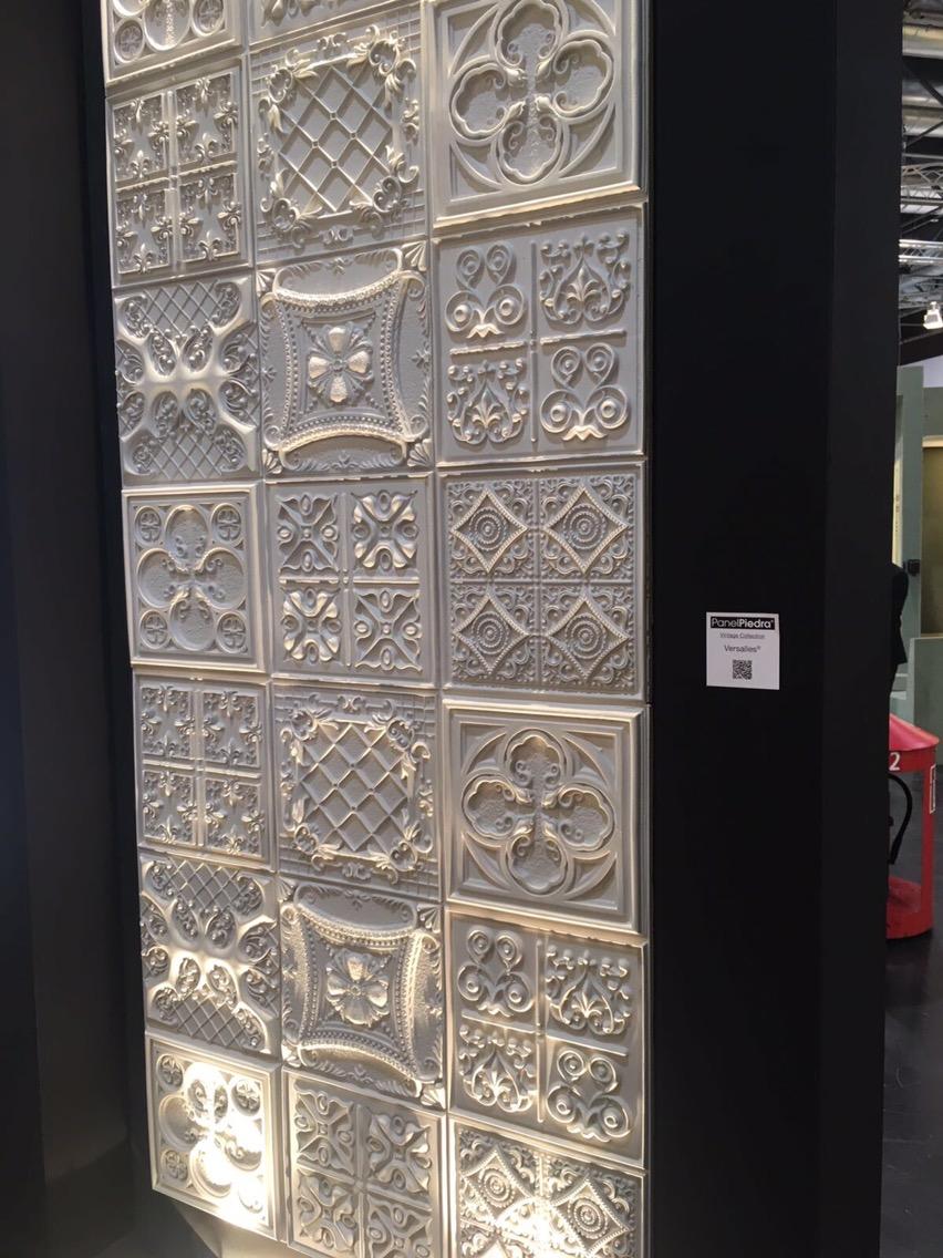 Vintage range of wall panels