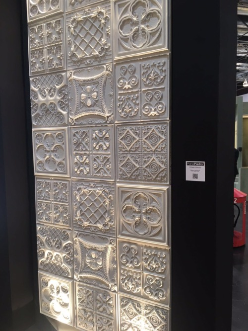 Vintage range of wall panels