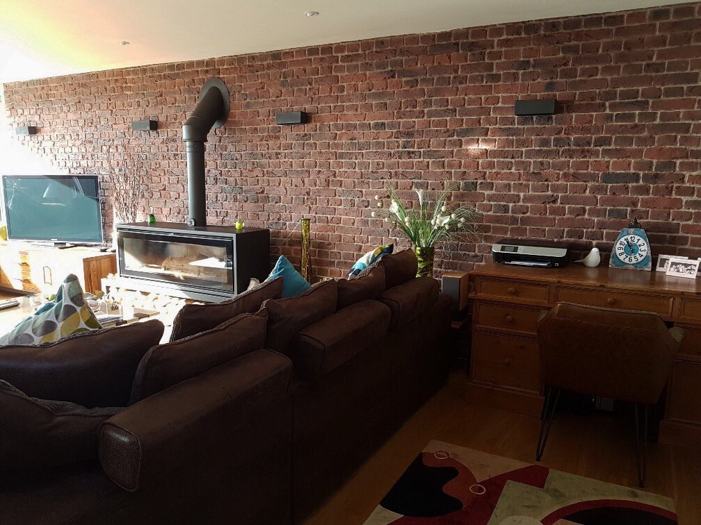 ... Faux Red Brick PR 550 Wall Panels From Dreamwall ...