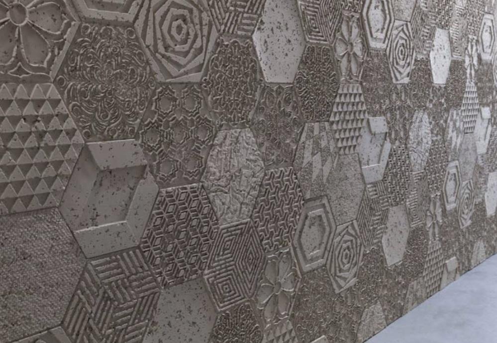 cemento hexagon