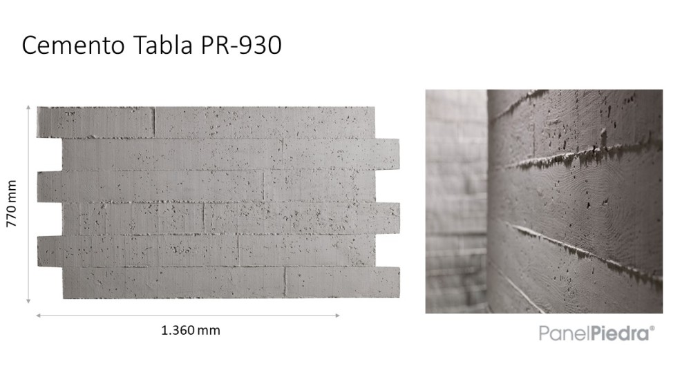 cemento tabla pr-930